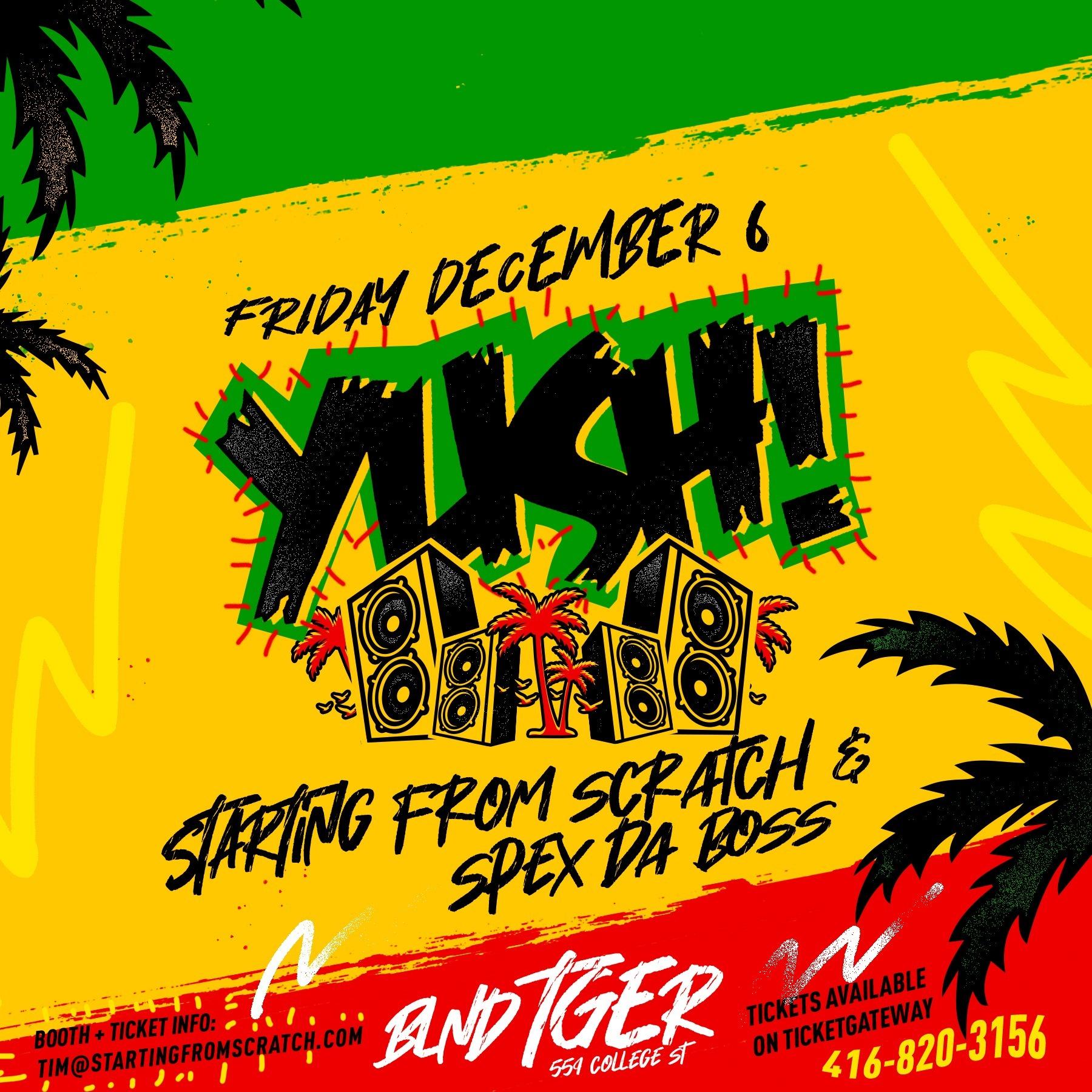 YUSH! - A Journey Through Reggae Music