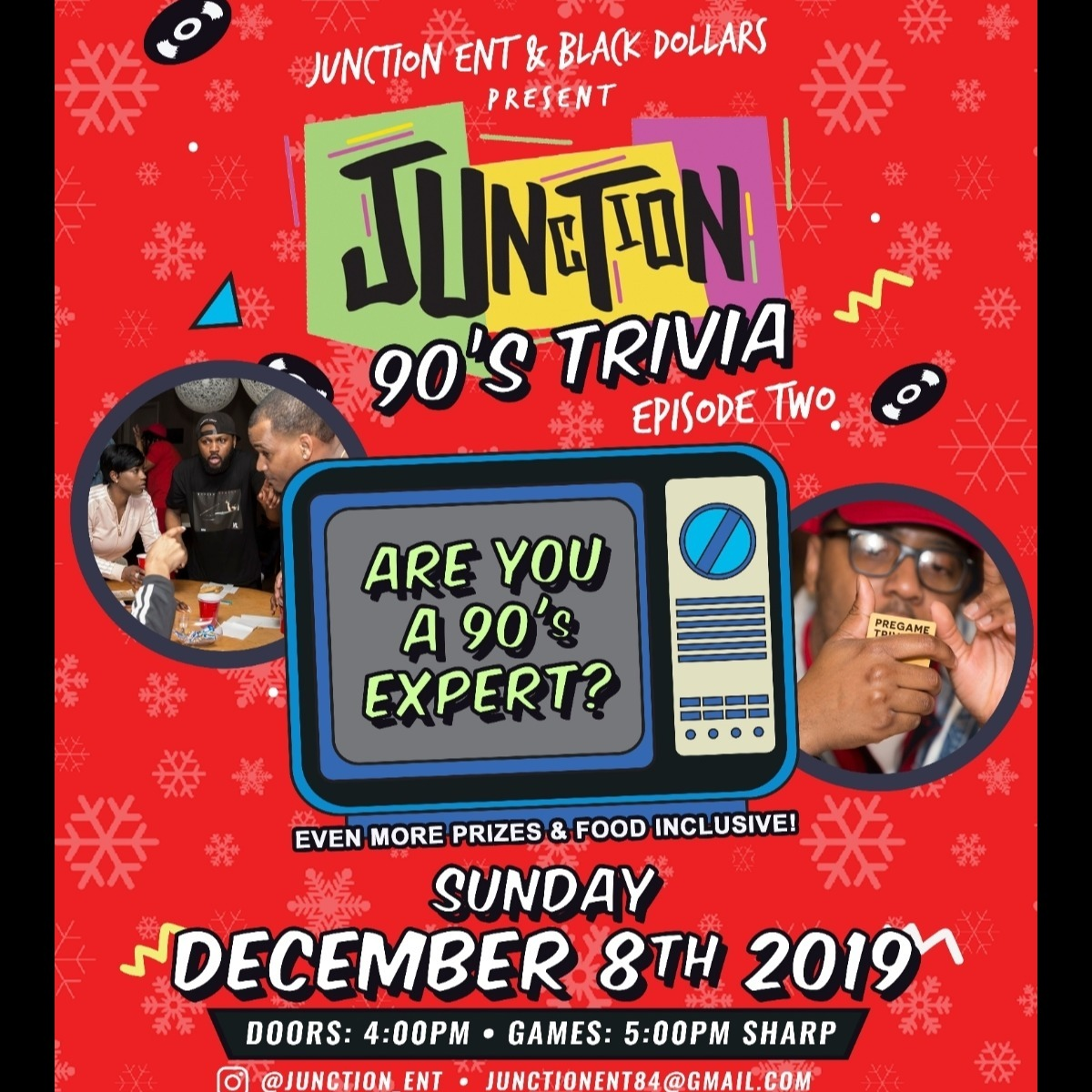 Junction Presents: 90s Trivia Game Night Episode 2
