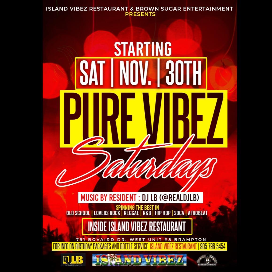 Pure Vibez Saturdays