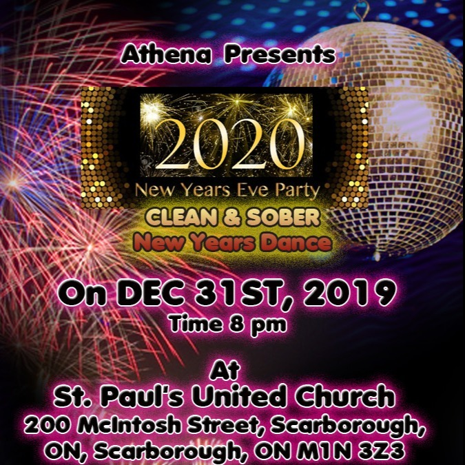 New Years Eve Party - Clean and Sober - New Years Dance