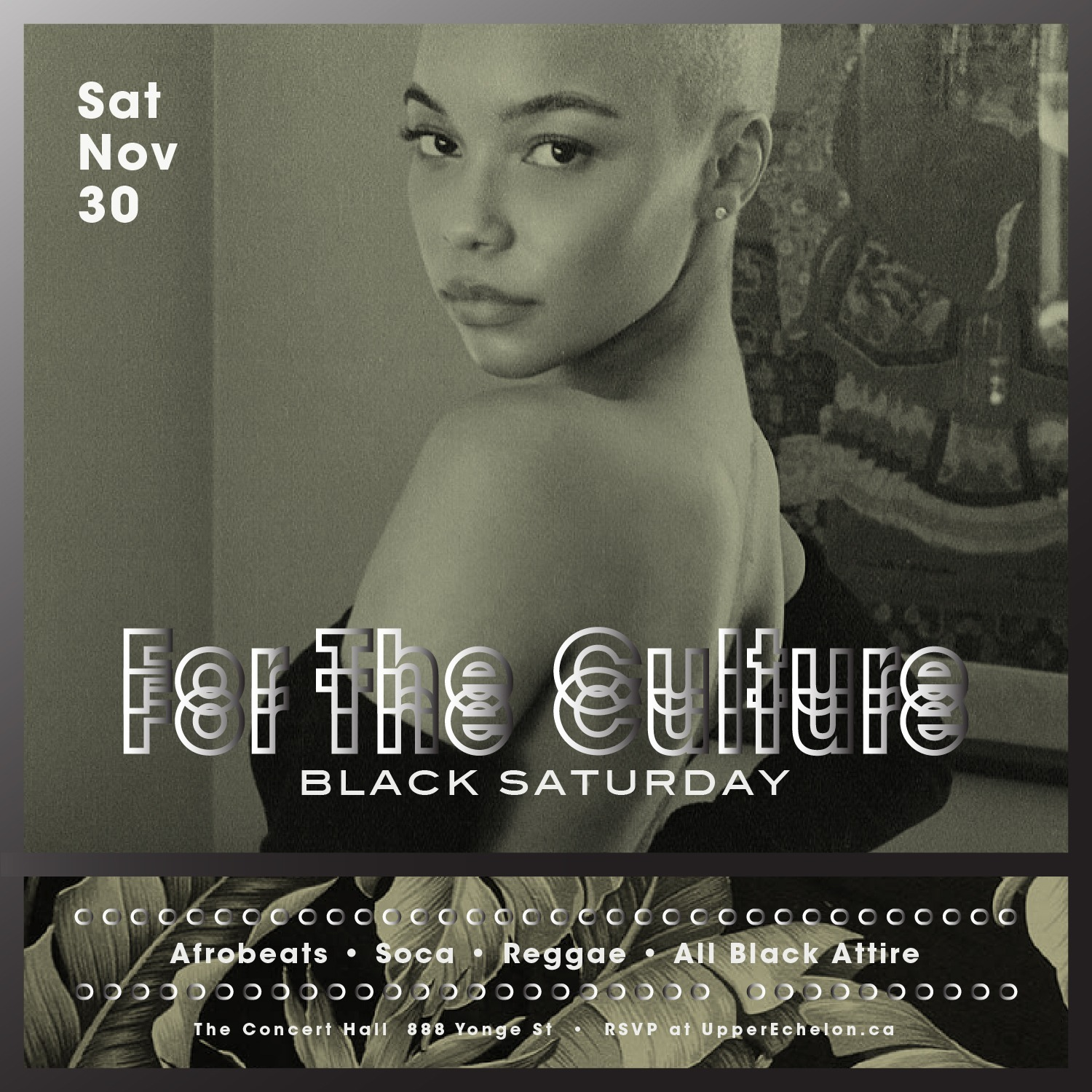 FOR THE CULTURE: BLACK SATURDAY | All Black Edition