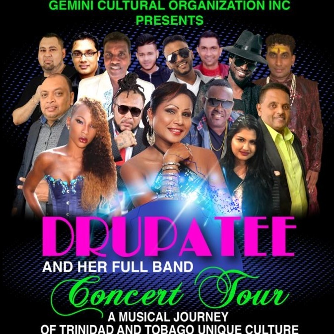 Drupatee and Her Full Band - Concert Tour May 23rd