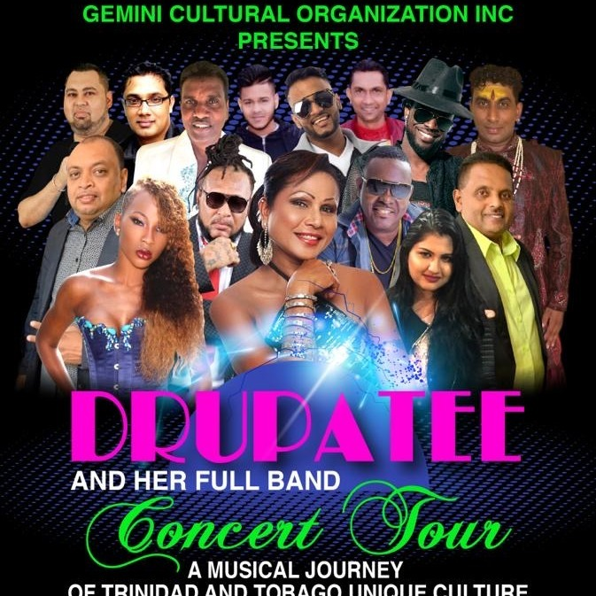 Drupatee And Her Full Band - Concert Tour August 22nd