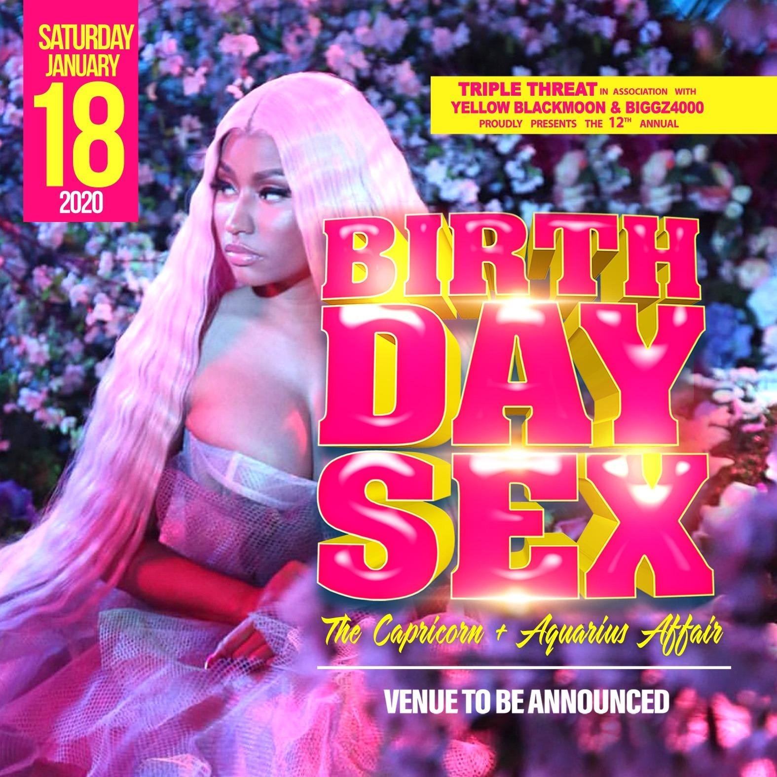 BIRTHDAY SEX  - The Capricorn And Aquarius Affair