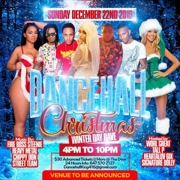 Dancehall Christmas - Winter Day Rave