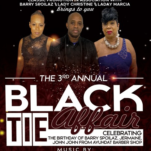 The 3rd Annual - Black Tie Affair