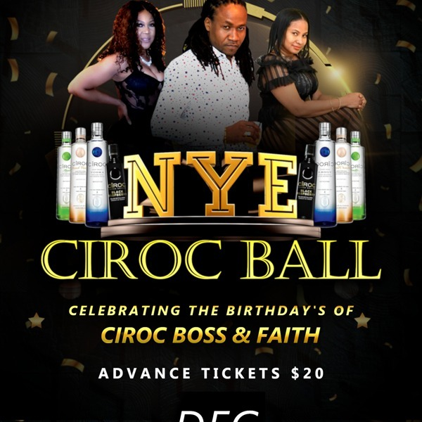NYE Ciroc Ball - Birthday Celebration