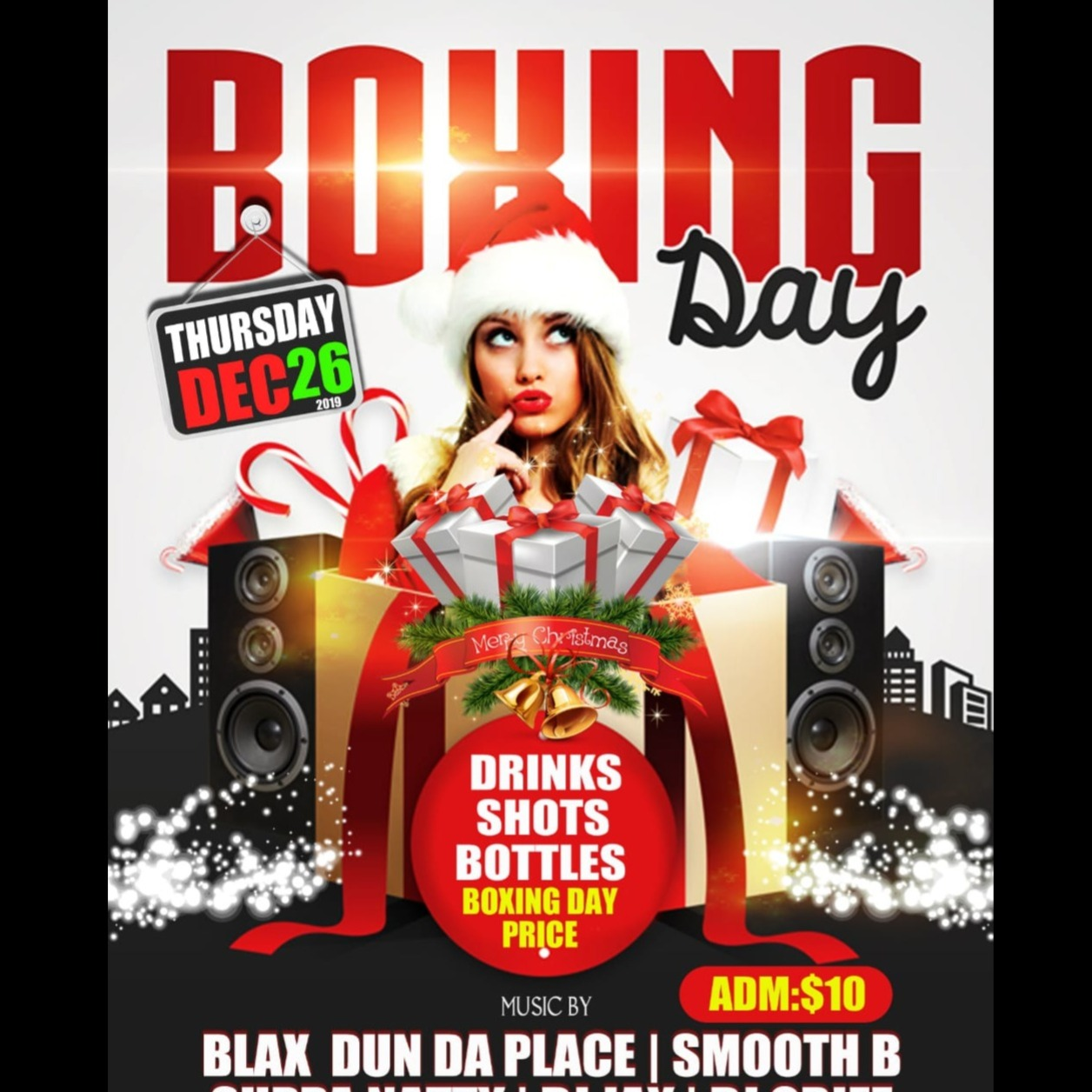 Boxing Day @ District Lounge