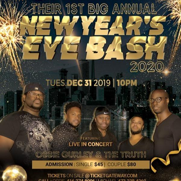 1st Big Annual New Year's Eve Bash 2020