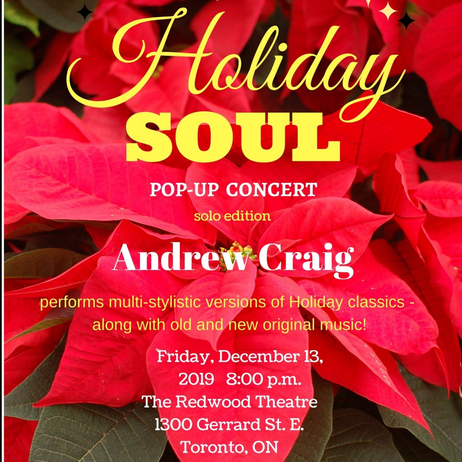 Holiday Soul Pop-Up Show