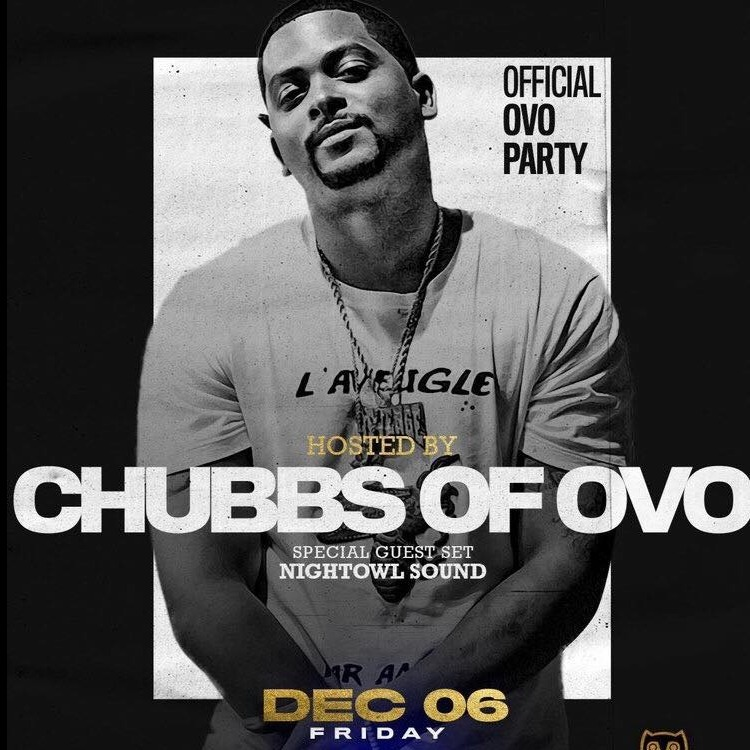 GRAND OPENING OF NUVO HOSTED BY CHUBBS OF OVO FRI DEC 6TH