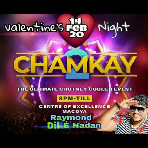 Chamkay Cooler Event 2020 | Trinidad Carnival