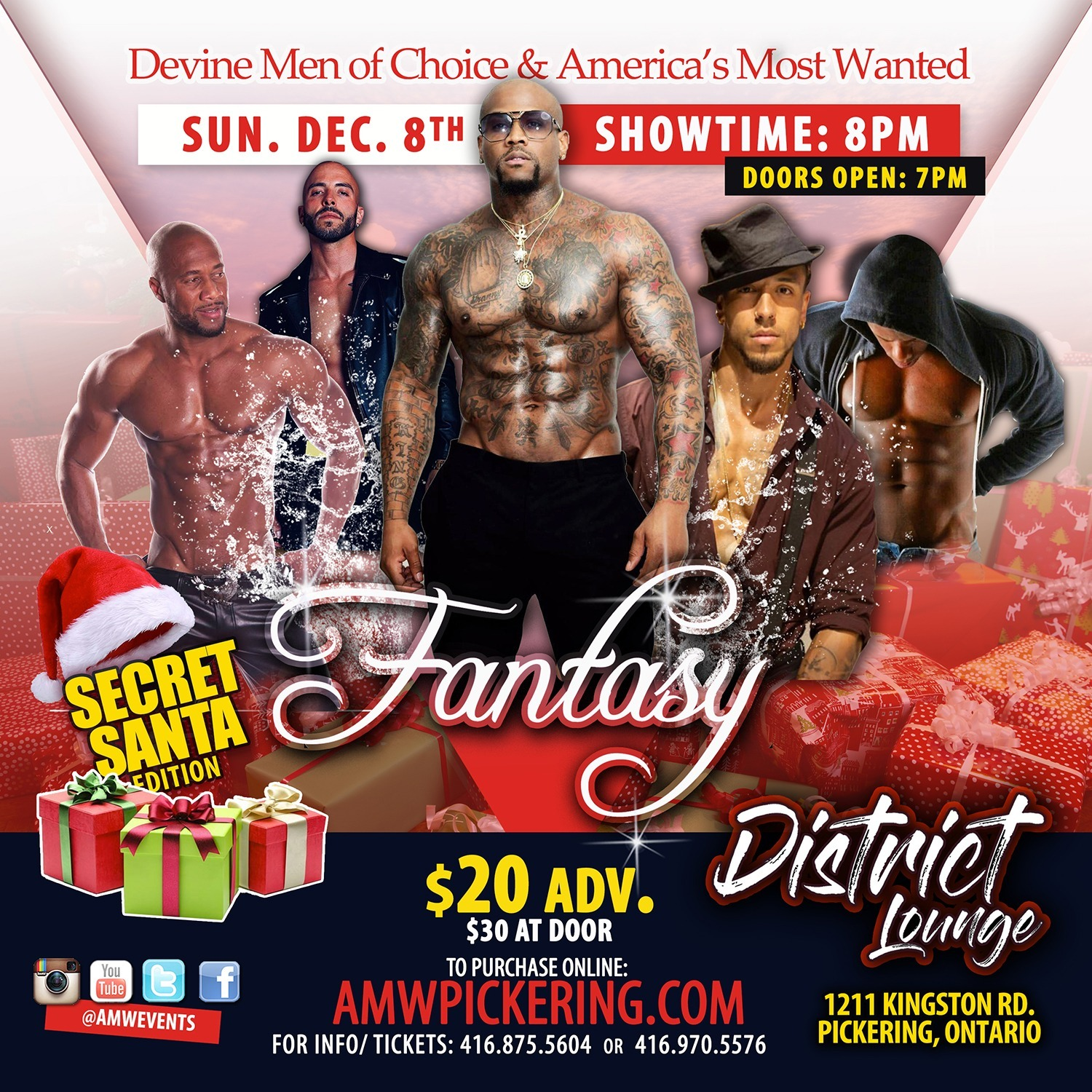 AMW Fantasy - Pickering Dec 08th