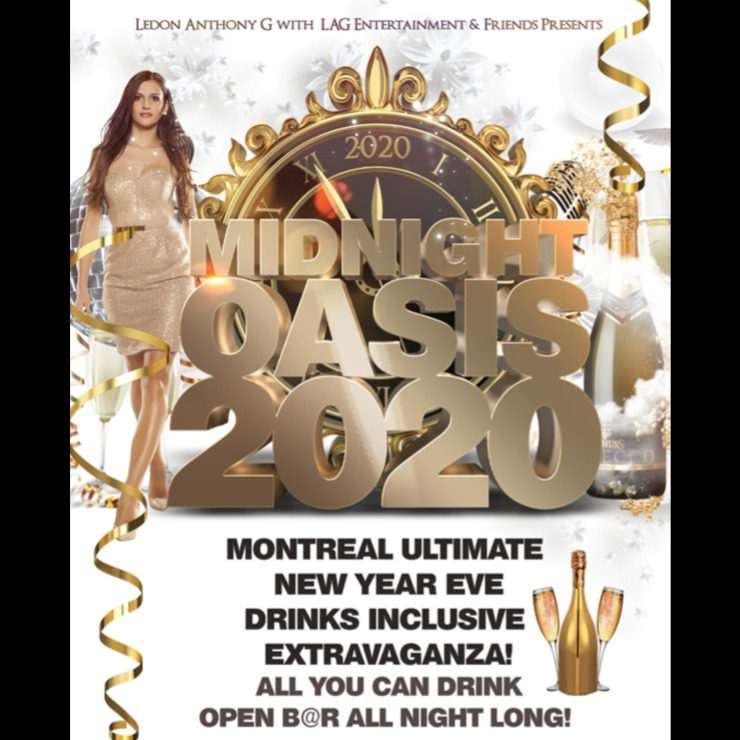 Midnight OASIS 2020 - Montreal Ultimate New Year Eve