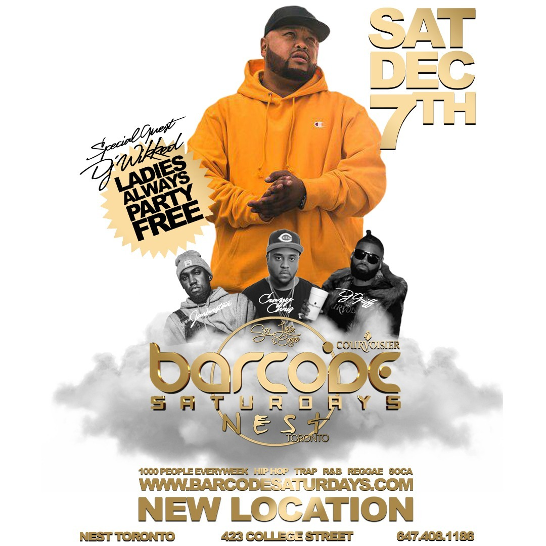 Barcode Saturdays Creative Dec 7th