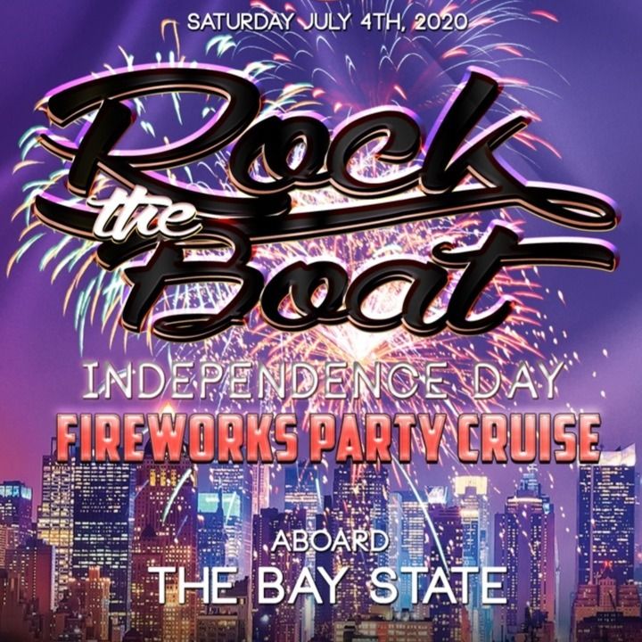 Rock the Boat: Independence Day Fireworks Cruise Aboard The Bay State