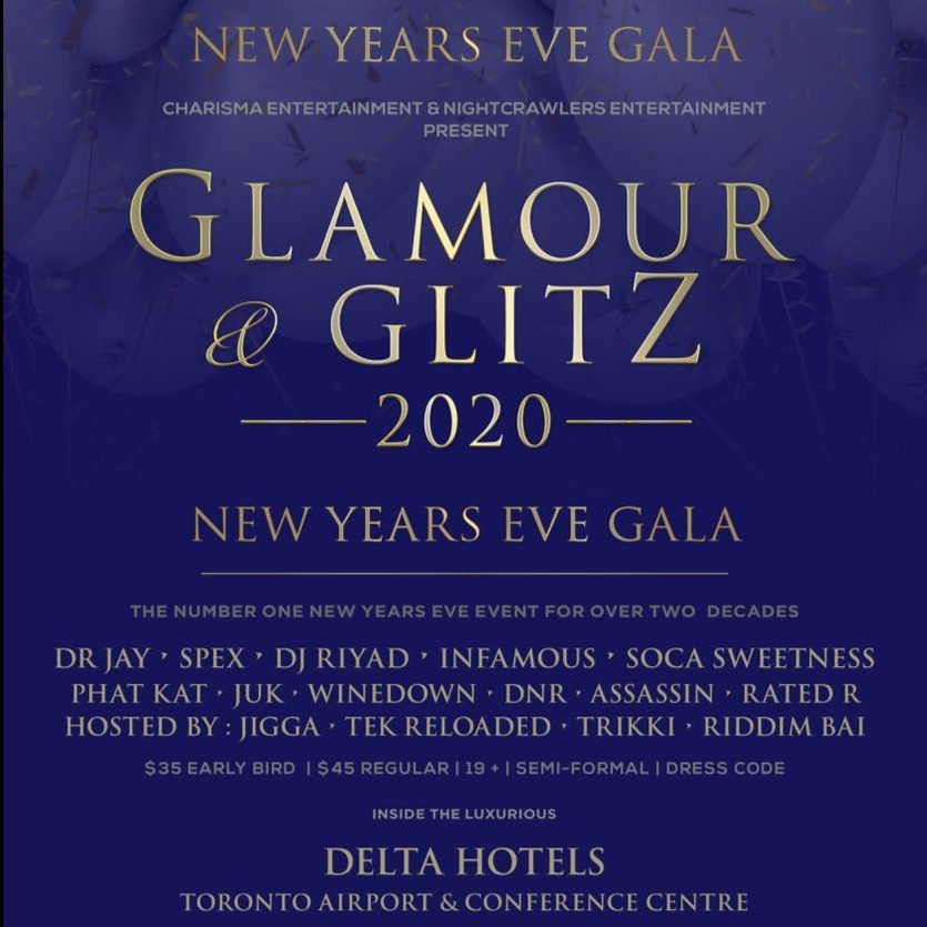 GLAMOUR AND GLITZ 2020