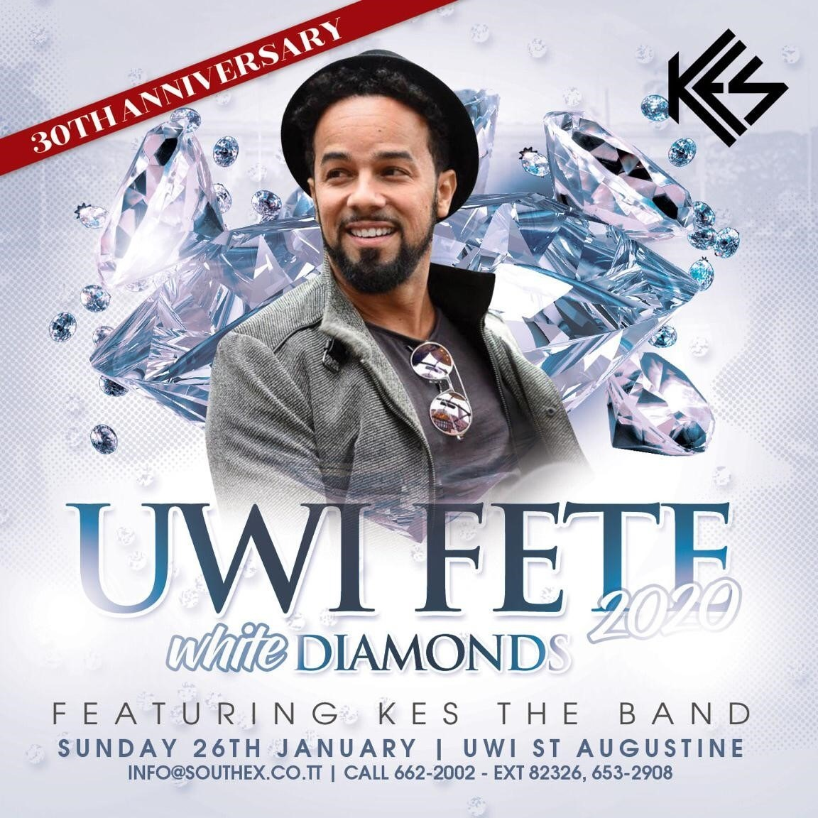 UWI Fete - White Diamond