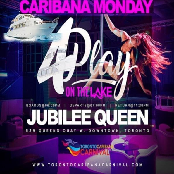 4Play On The Lake | Caribana Monday 2020