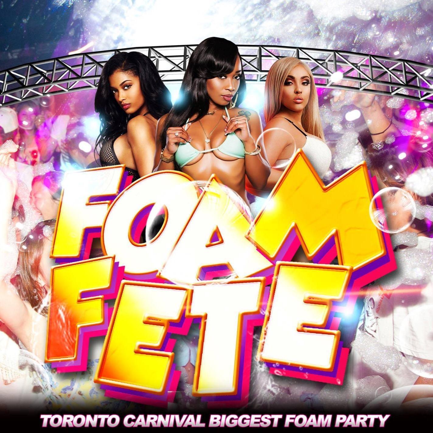 Foam Fete Caribana 2020 Toronto