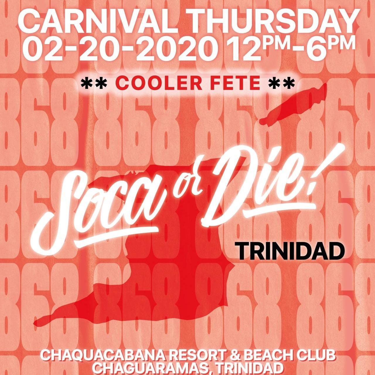 Soca Or Die - Trinidad Carnival 2020