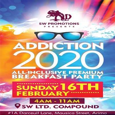 ADDICTION 2020 - ALL INCLUSIVE PREMIUM BREAKFAST PARTY