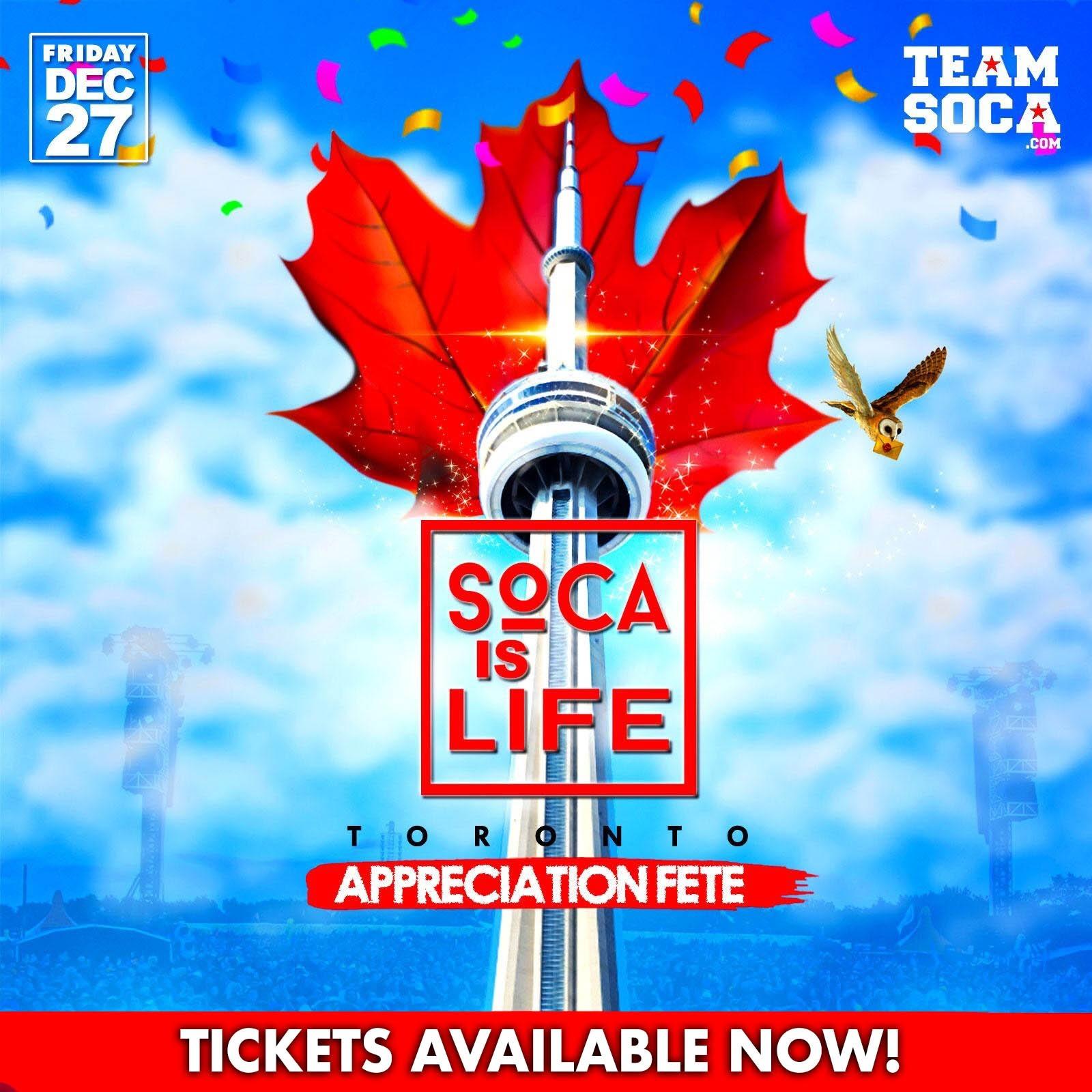 Soca Is Life - Appreciation Fete