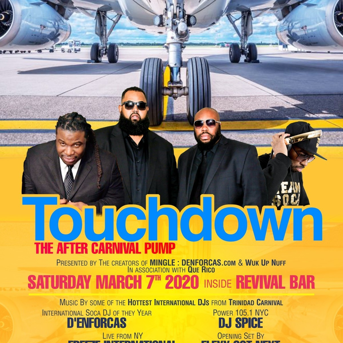 Touch Down - The After Carnival Pump