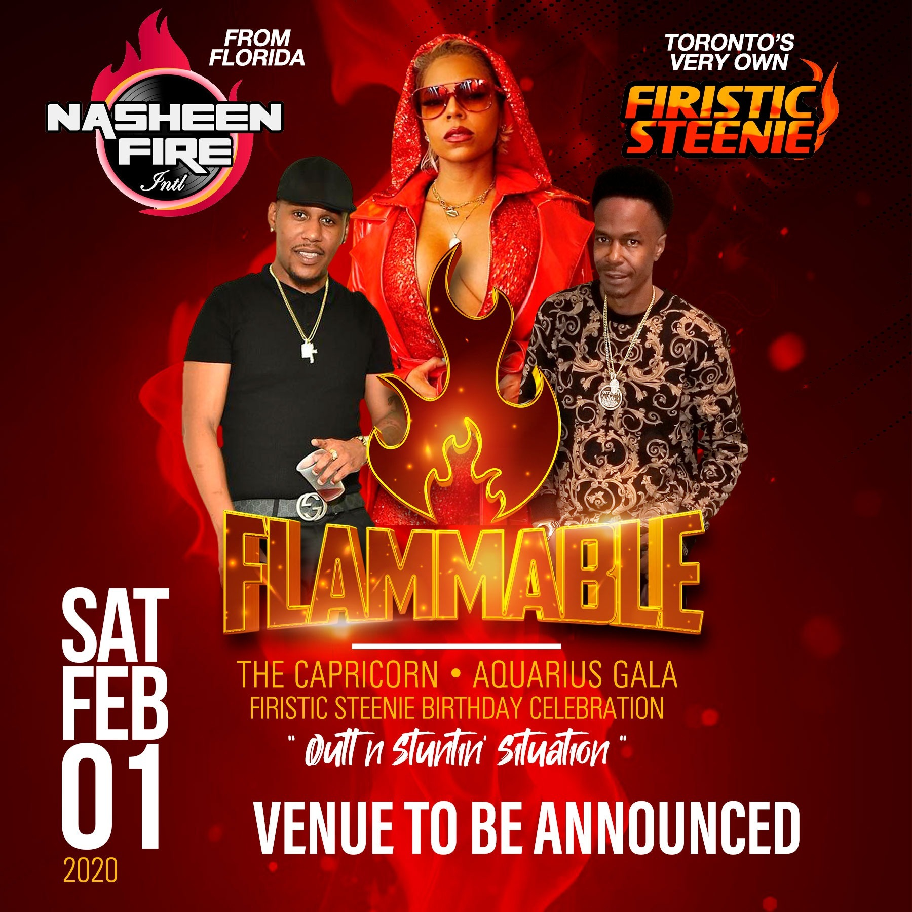 Flammable - Firistic Steenie Birthday Celebration