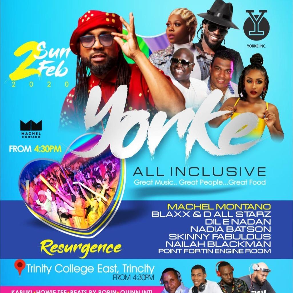 Yorke Inc 2020 all inclusive