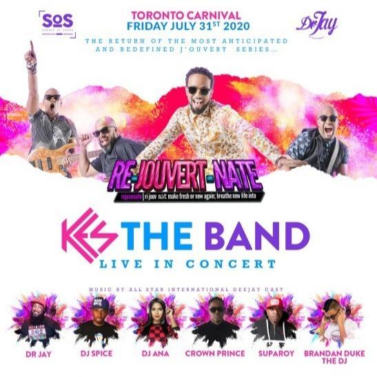 RE-JOUVERT-NATE 2020 | Toronto Carnival