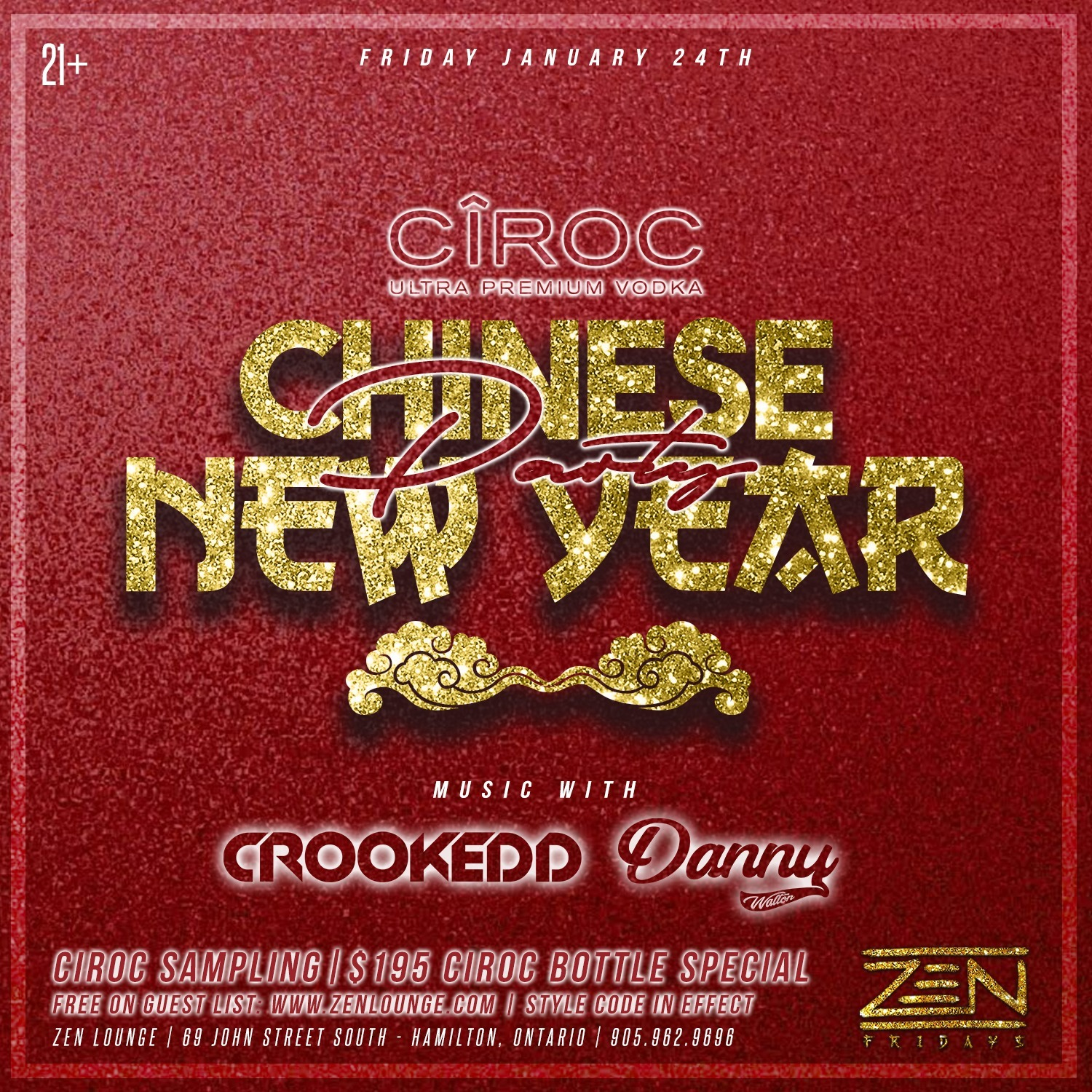 Ciroc Presents - Chinese New Year Party