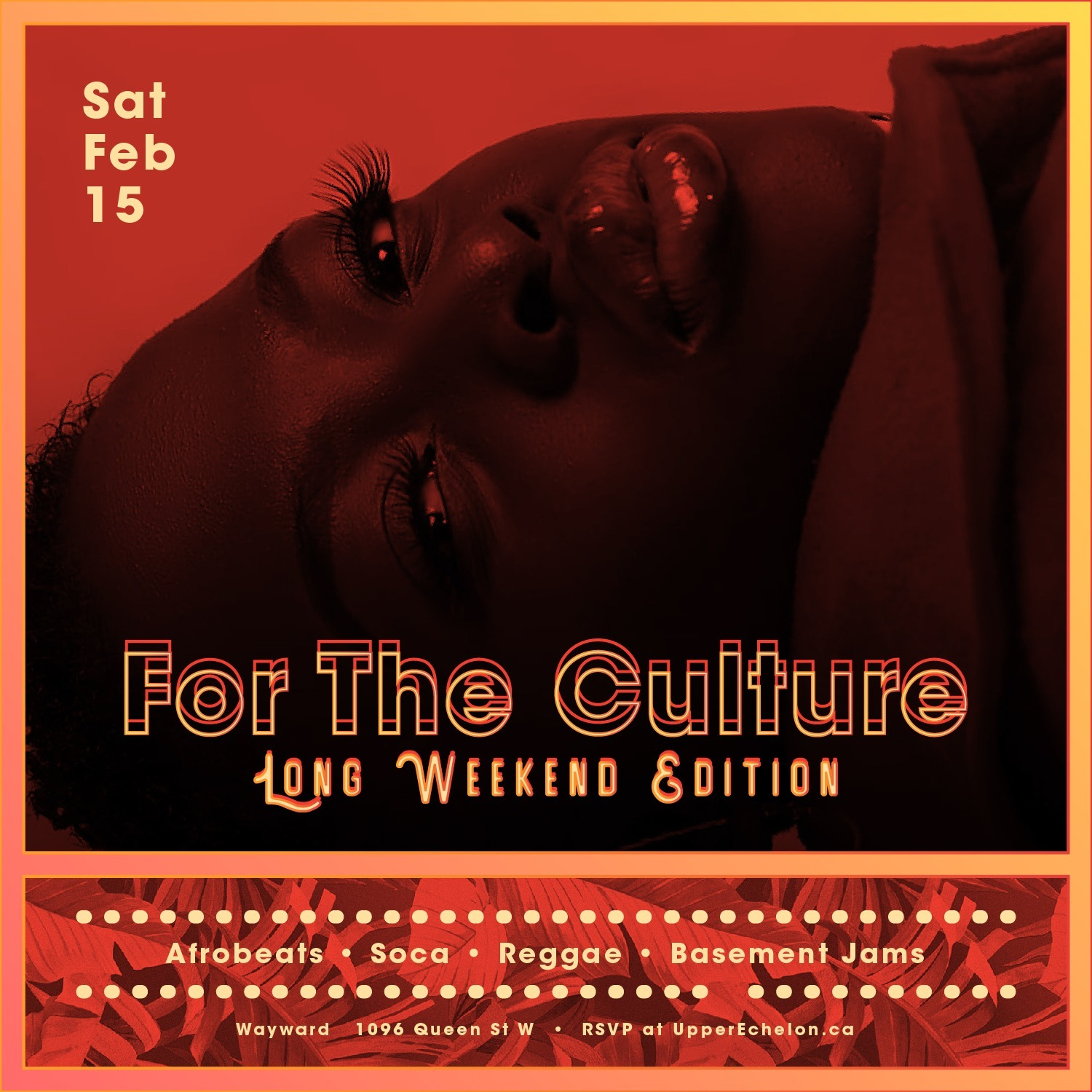 FOR THE CULTURE | Long Weekend Saturday