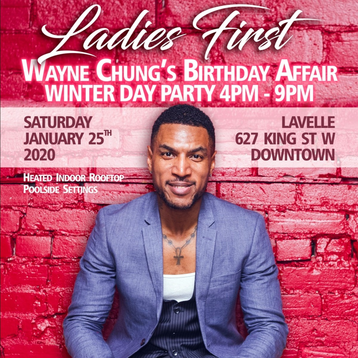 The Annual Wayne Chung Birthday Affair Jan 25 2020