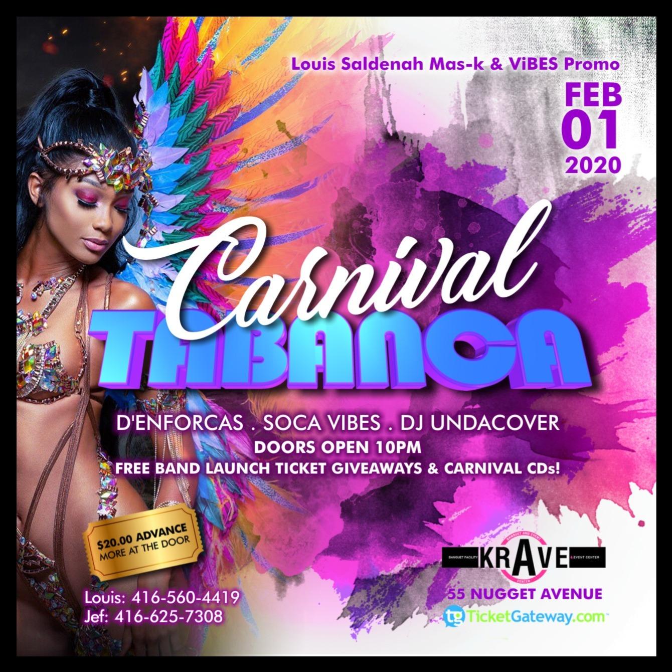 Carnival Tabanca 2020