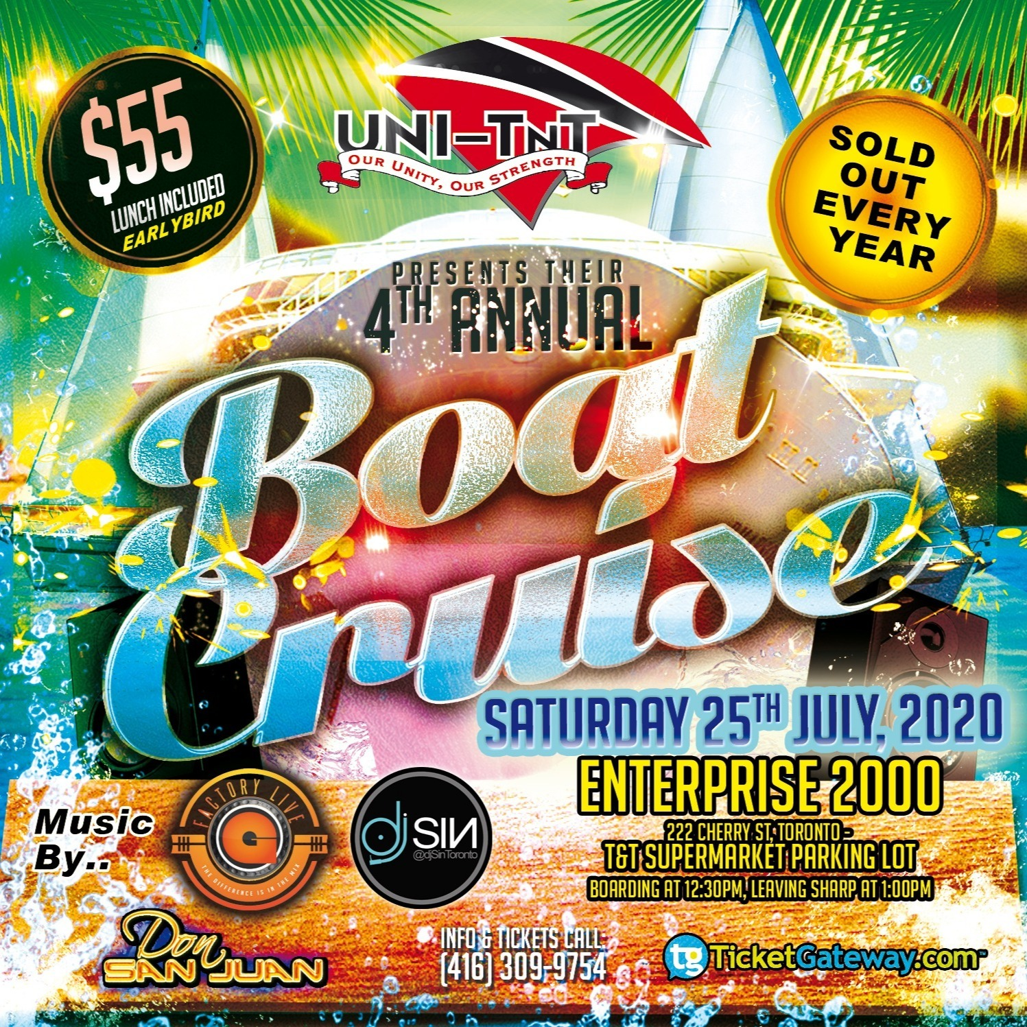 Uni-tnt 4th Annual Boat Cruise