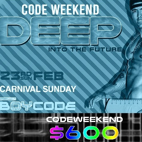 Code Weekend - DEEP Into The Future