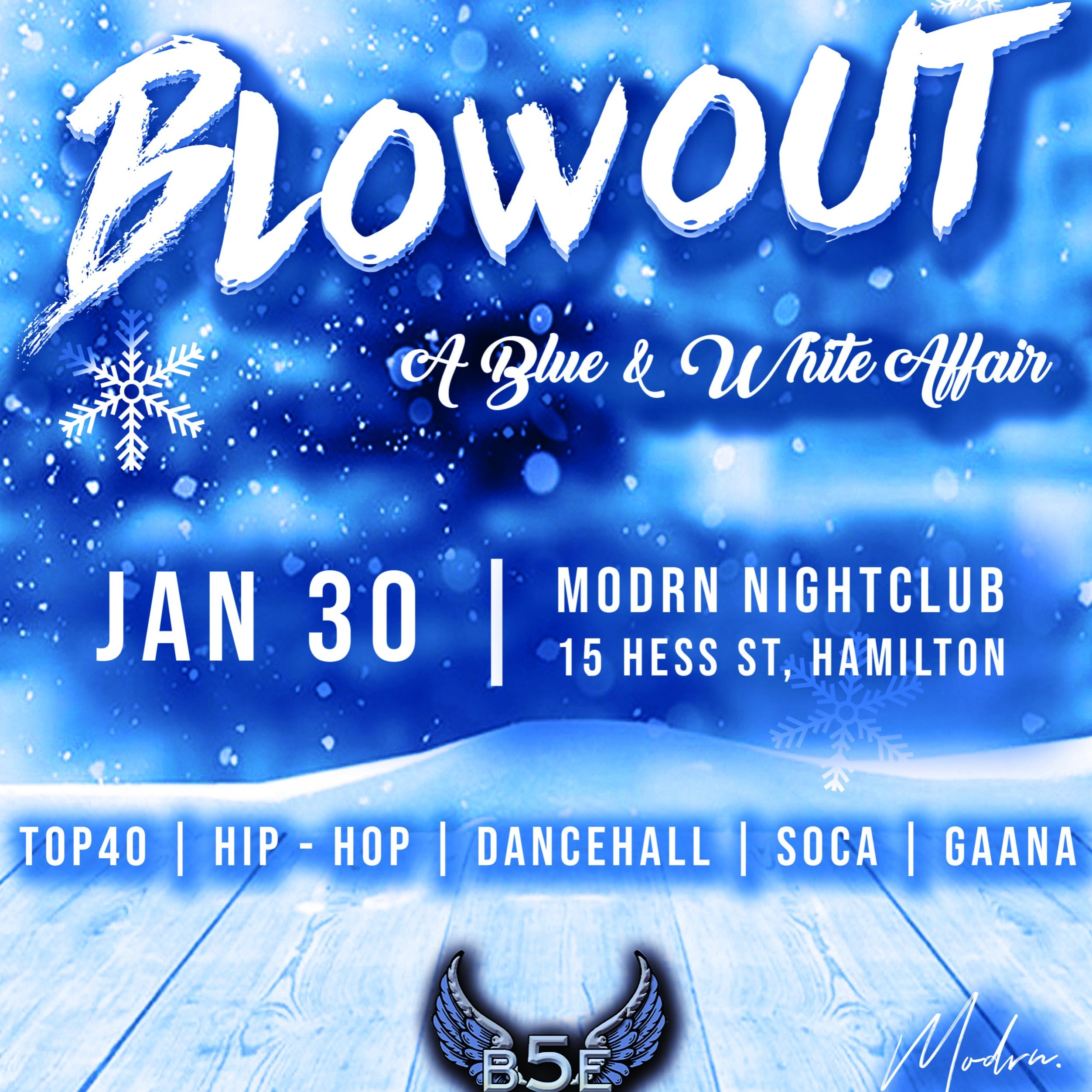 B5E Presents: Blowout