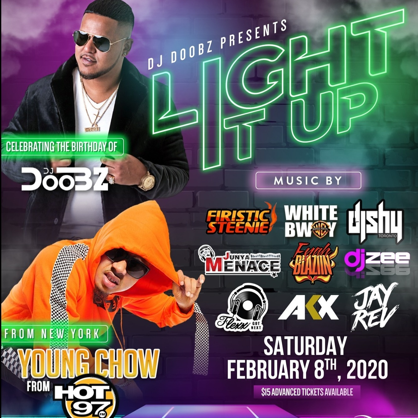 LIGHT IT UP Feat YOUNG CHOW from HOT 97