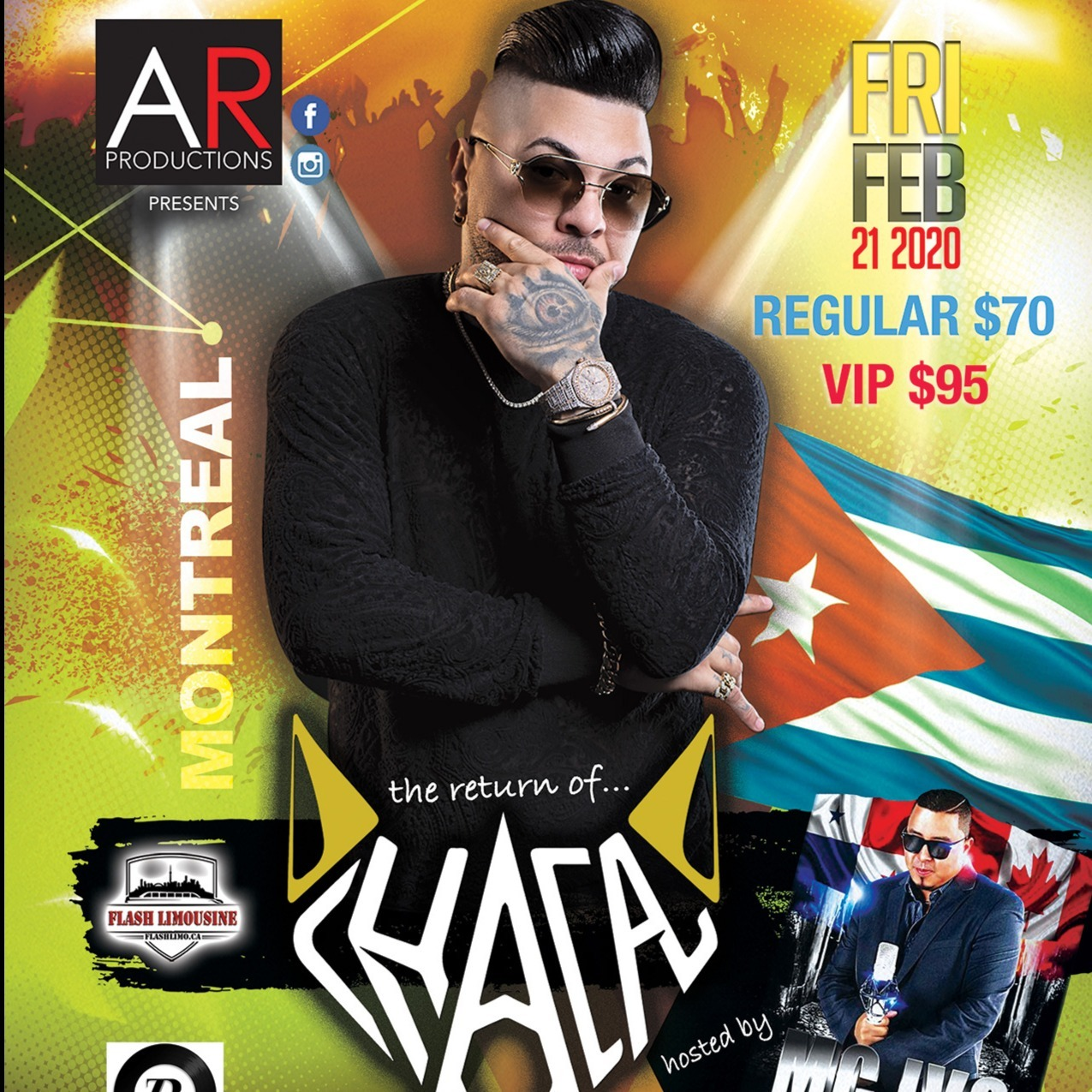 Chacal Live in Concert In Montreal