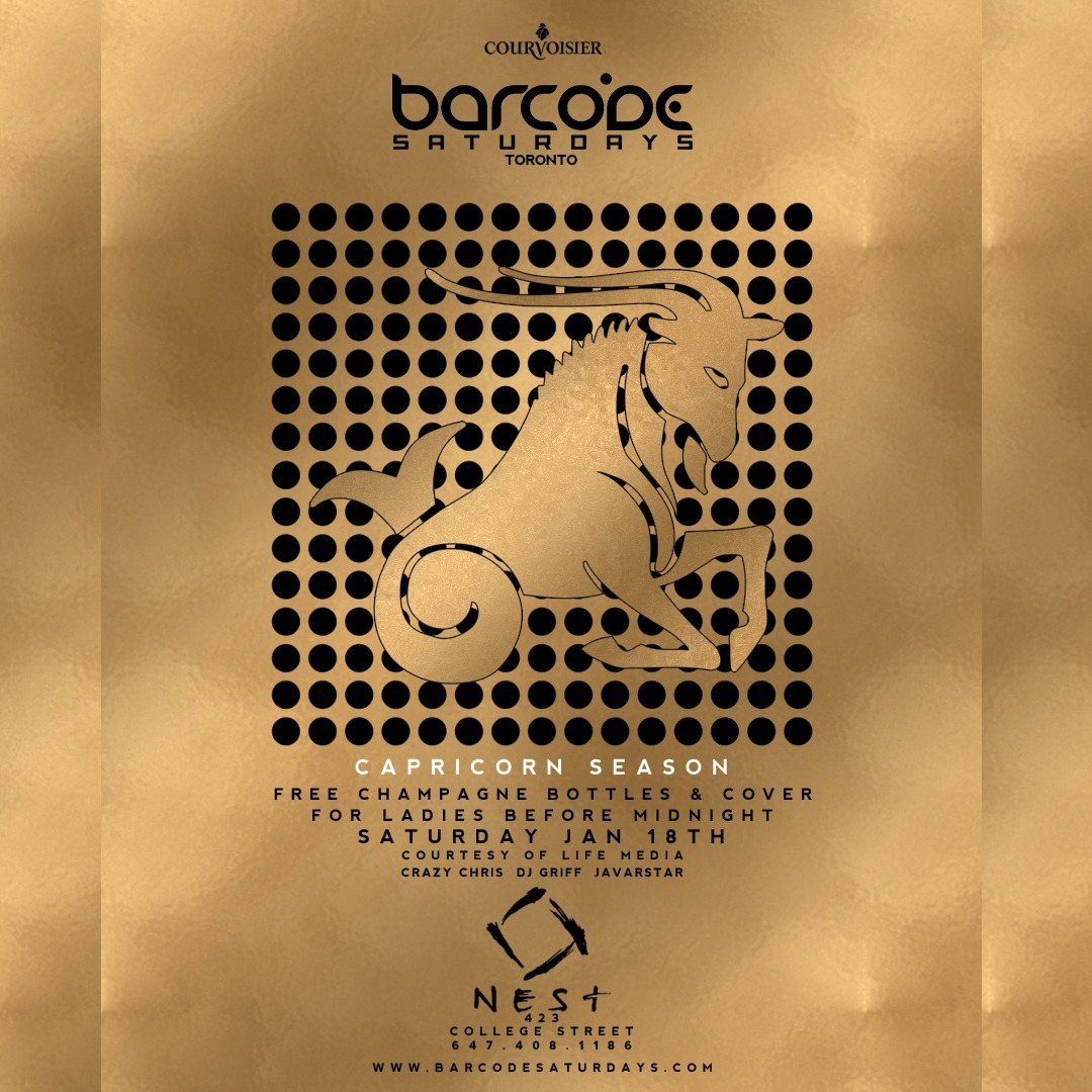 Barcode Saturdays Jan 18th