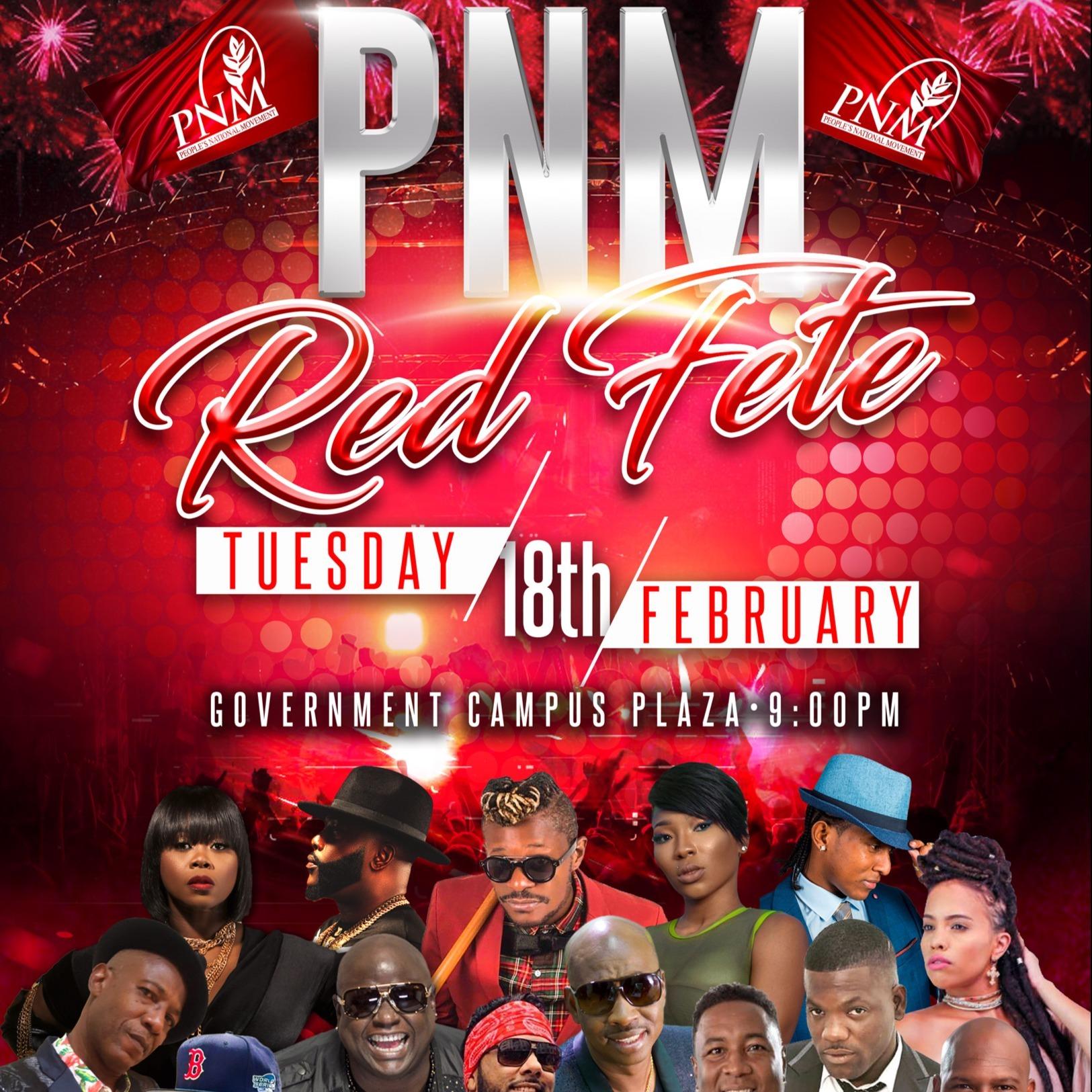 PNM - Red Fete