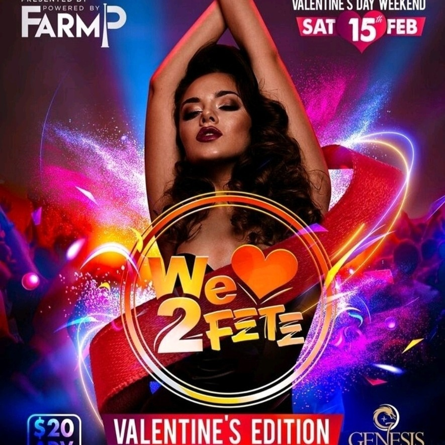 WE LOVE TO FETE VALENTINE'S EDITION