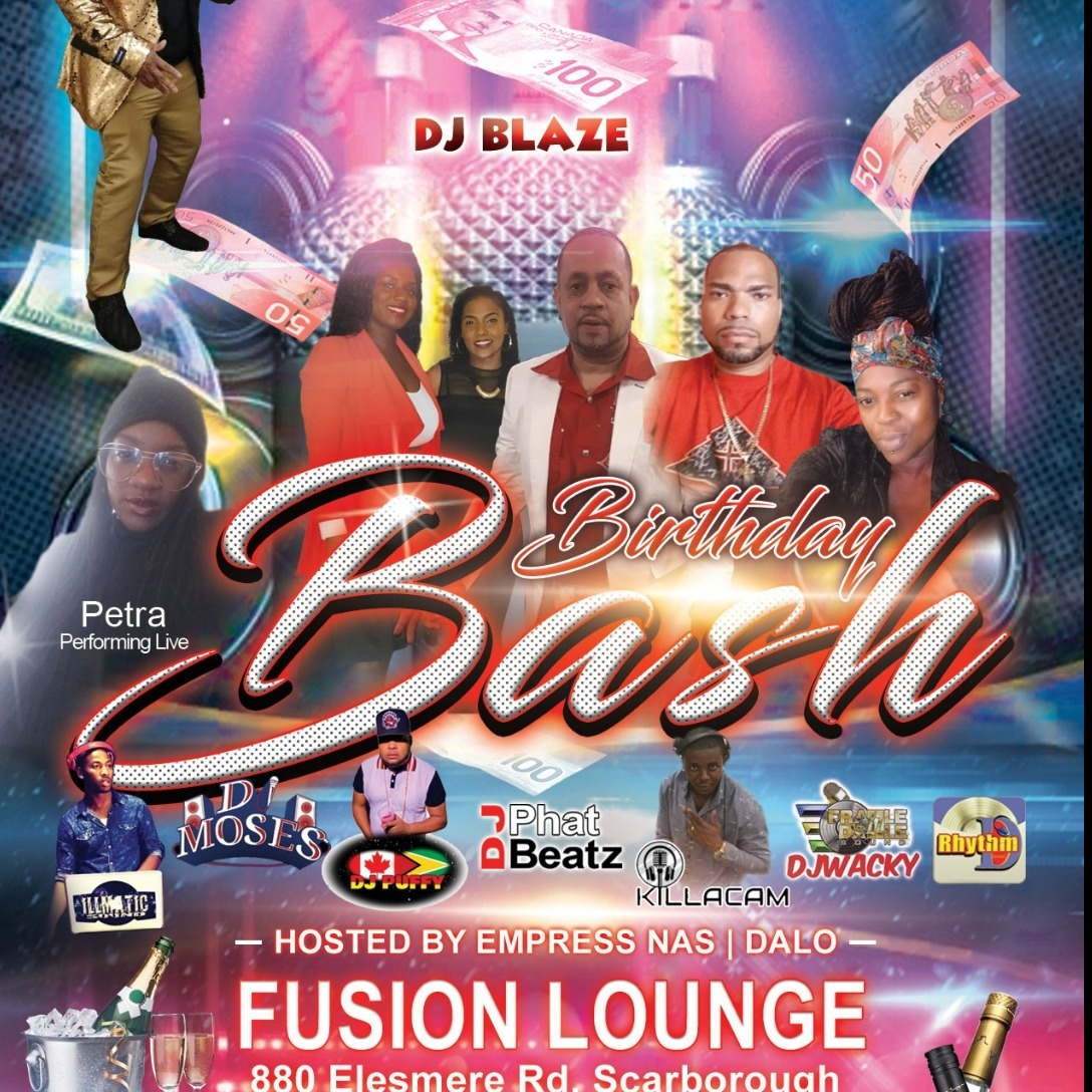DJ Blaze Birthday Bash