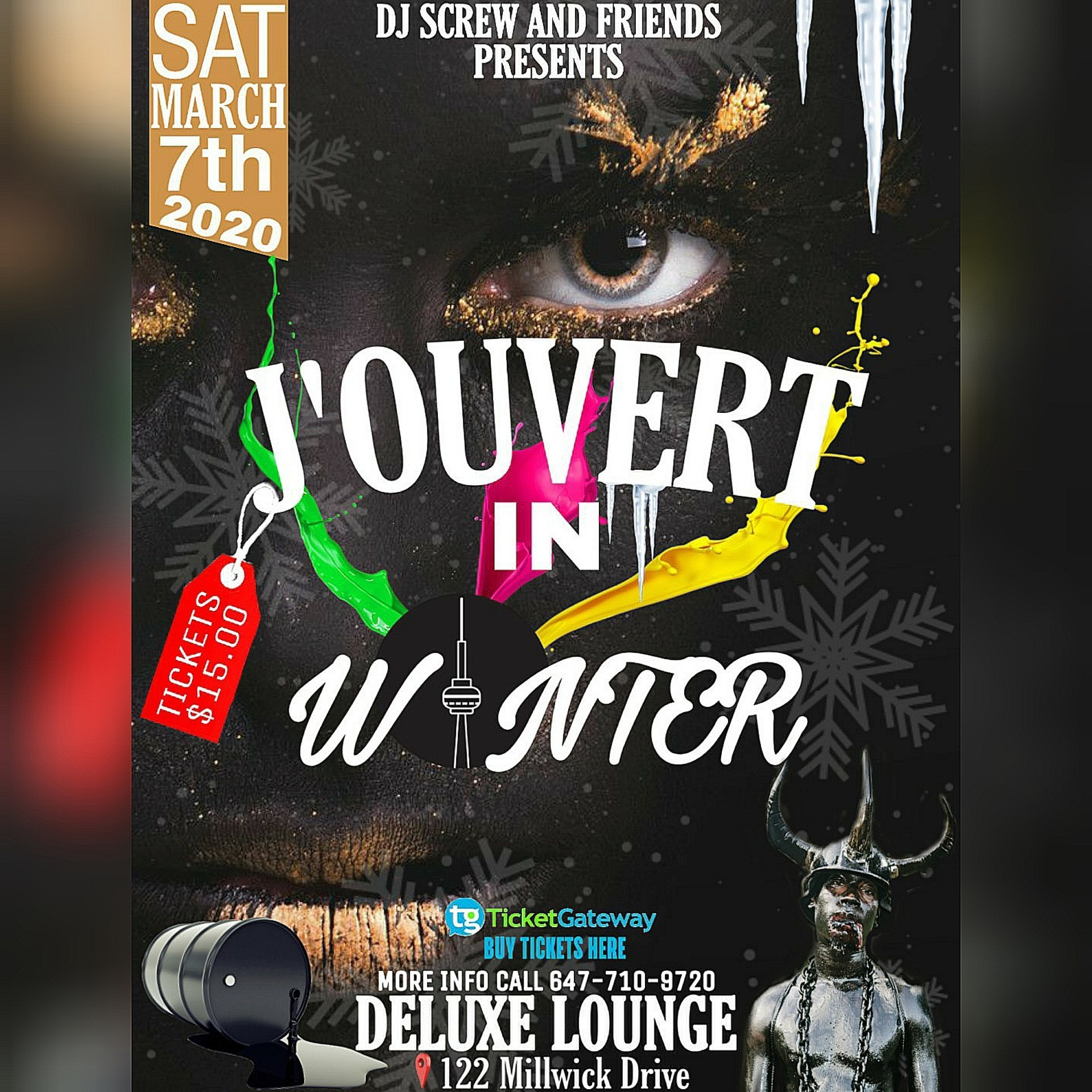 J'ouvert In Winter
