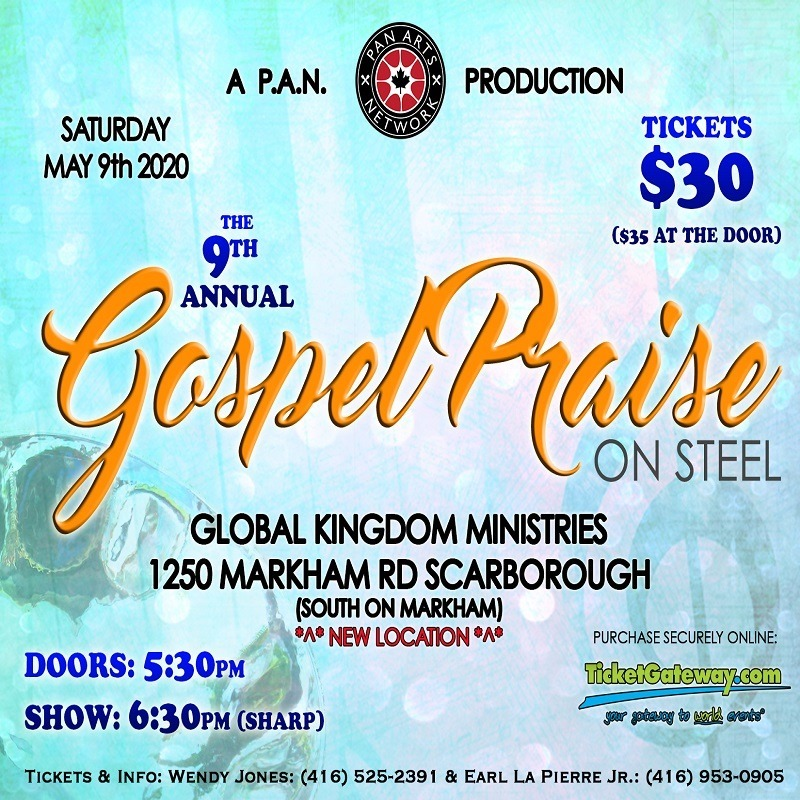 9th Annual Gospel Praise on Steel