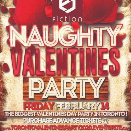 VALENTINES PARTY 2020 @ FICTION NIGHTCLUB | FRIDAY FEB 14TH