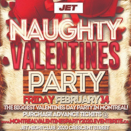 MONTREAL VALENTINES PARTY 2020 @ JET NIGHTCLUB | OFFICIAL MEGA PARTY!