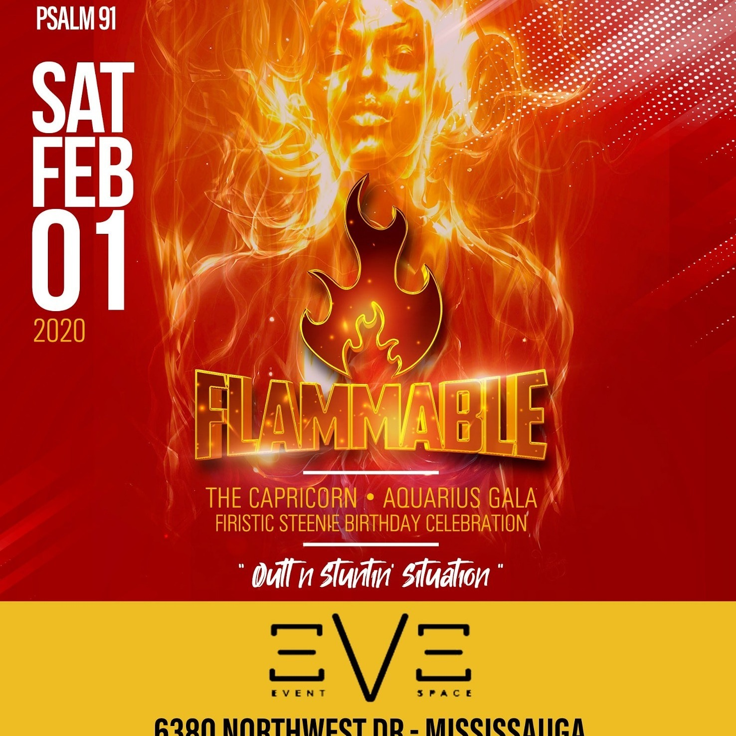 Flammable - Firistic Steenie Birthday Celebration