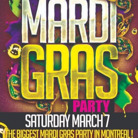 MONTREAL MARDI GRAS PARTY 2020 @ JET NIGHTCLUB | OFFICIAL MEGA PARTY!